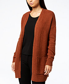 Eileen Fisher Long Open-Front Cardigan