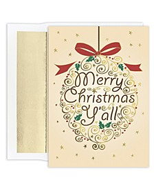 Masterpiece Studios Merry Christmas Y'all Boxed Cards