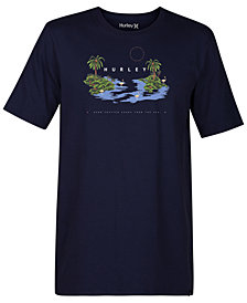 Hurley Men's Island Hop Graphic T-Shirt