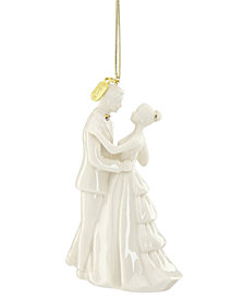Lenox 2018 Bride & Groom Ornament