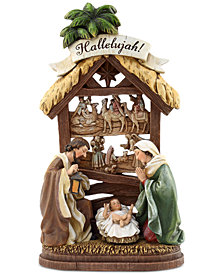 Napco Hallelujah Nativity Figurine