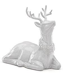 Lenox Alpine  Reindeer Centerpiece