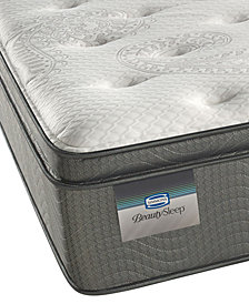 "ONLINE ONLY! BeautySleep 12.5"" Keyes Peak Luxury Firm Pillow Top Mattress- Queen"