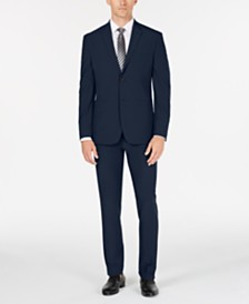 Perry Ellis Premium Men's Slim-Fit Stretch Tech Suit, Machine Washable