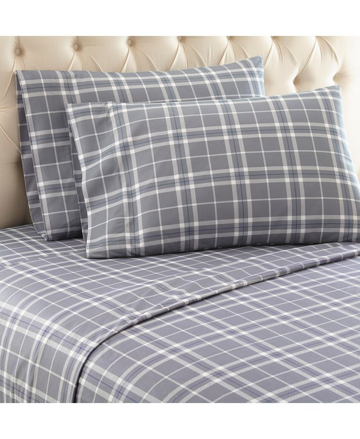 Shavel - Micro Flannel® Spa Blue Full Sheet Set