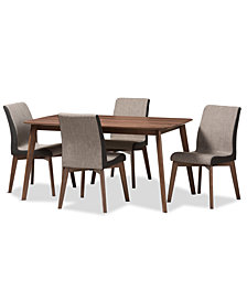 Melonye 5-Pc. Dining Set, Quick Ship