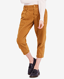 Free People Cotton Boyfriend Chino Pants