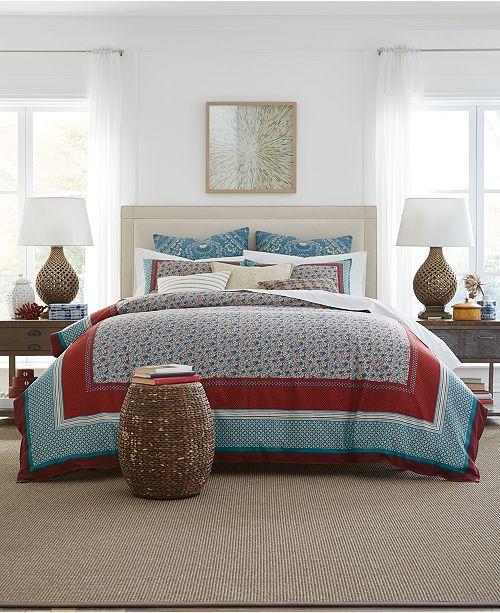 Tommy Hilfiger Prairie Reversible 2-Pc. Patchwork Twin Comforter Set