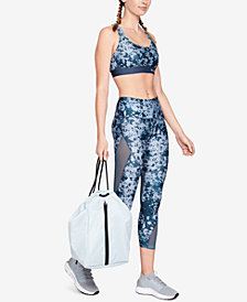 Under Armour HeatGear® Printed Mesh-Inset Compression Leggings