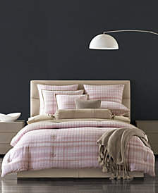 Oscar|Oliver Serena Cotton 4-Pc. Pink Full Comforter Set