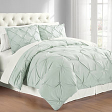 Premium Collection Pintuck Bedding Comforter Set Collection