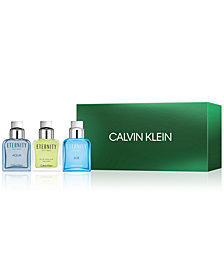 Calvin Klein Men's 3-Pc. Eternity For Men Gift Set, A $129 Value, Created for Macy's
