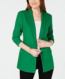 I.N.C. 3/4-Sleeve Blazer, Created for Macy's