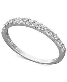 Arabella 14k Gold Ring, Swarovski Zirconia Wedding Band (1 ct. t.w.)
