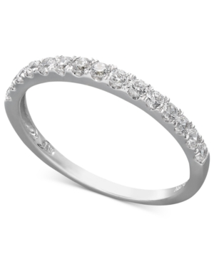 Cubic Zirconia Wedding Band Ring (1 ct. t.w.) in 14k White or Yellow Gold