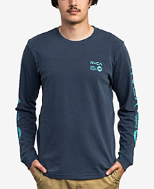 RVCA Men's Long-Sleeve Graphic T-Shirt