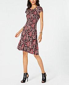 MICHAEL Michael Kors Petite Paisley-Print Dress
