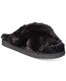 INC Women's Yayla Slide-On Slippers, Created for Macy's
