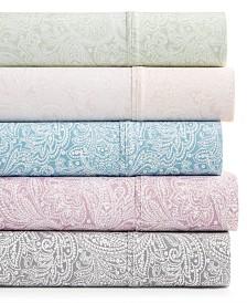 Bari 4-Pc. Paisley Printed Sheet Sets, 350 Thread Count Cotton Blend