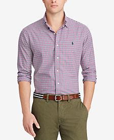 Polo Ralph Lauren Men's Classic-Fit Plaid Twill Shirt