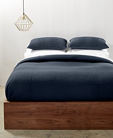 CLOSEOUT! Steve Ribbed Stripe Bedding Collection, Created for Macy's