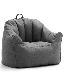 Big Joe Lux Hug Bean Bag Chair, Quick Ship