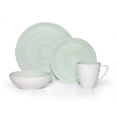 Sovona Teal 16-Pc. Dinnerware Set, Service for 4