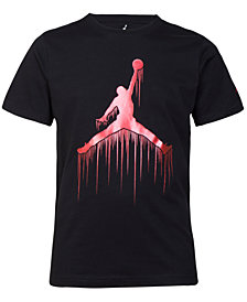 Jordan Big Boys Jumpman Graphic Cotton T-Shirt