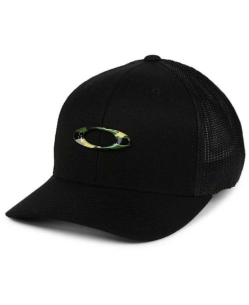 e54bf2a4f38fd Oakley Tin Can Camo Stretch Fitted Cap   Reviews - Sports Fan Shop ...