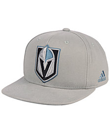 adidas Vegas Golden Knights Grey Pop Snapback Cap