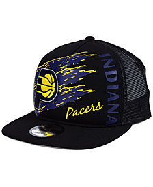 New Era Indiana Pacers Swipe Trucker 9FIFTY Snapback Cap