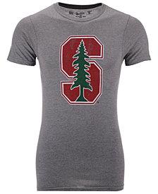 Retro Brand Men's Stanford Cardinal Alt Logo Dual Blend T-Shirt