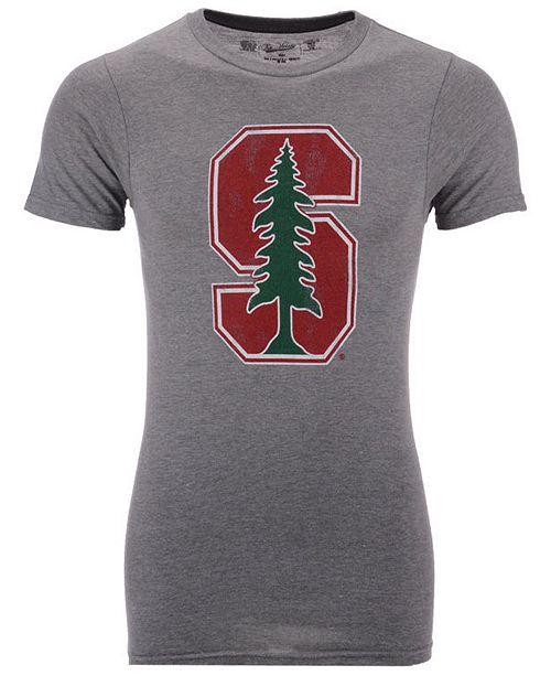 Retro Brand Men's Stanford Cardinal Alt Logo Dual Blend T