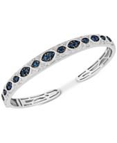 077fb1e4e91 Sapphire (1-3 4 ct. t.w.)   Diamond (1