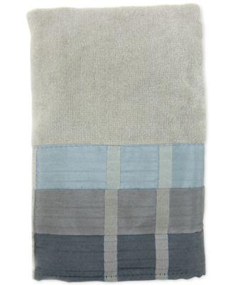 Fairfax Cotton Pieced Coloblocked Hand Towel