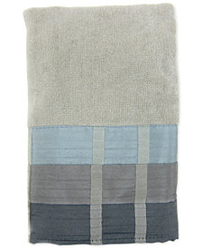 Croscill Fairfax Cotton Pieced Coloblocked Hand Towel