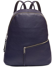 Calvin Klein Dali Pebble Leather Backpack