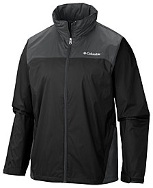 Columbia Men's Tall Glennaker Lake™ Colorblocked Rain Jacket