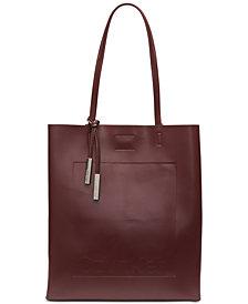 Calvin Klein Nora Leather Tote