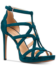 MICHAEL Michael Kors Sandra Platform Caged Dress Sandals