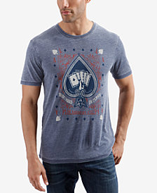 Lucky Brand Men's Winning Hand Graphic T-Shirt