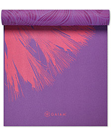 Gaiam Reversible 6mm Yoga Mat