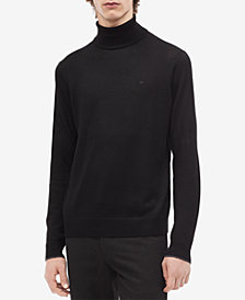 Calvin Klein Men's Solid Turtleneck
