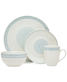 Godinger Stacatta 16-Pc. Dinnerware Set