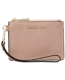 MICHAEL Michael Kors Pebbled Coin Purse