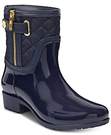 Tommy Hilfiger Women's Francie Rain Boots, Created for Macy's