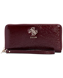 GUESS Digital Zip-Around Wallet