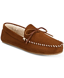 Polo Ralph Lauren Men's Markel Micro-Suede Moccasin Slippers