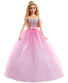 Mattel Birthday Wishes Barbie Doll