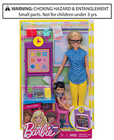 Mattel Barbie Teacher Doll & Playset